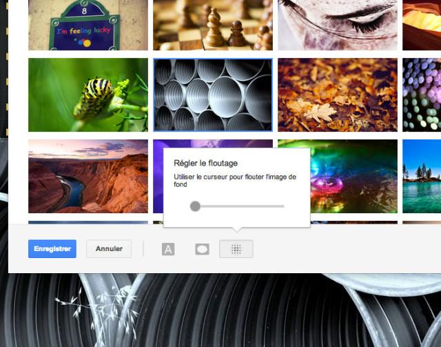 Modifier thème Gmail : capture 6