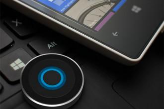 Bouton Cortana