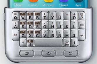 Un clavier physique pour le Samsung Galaxy S6 Edge+
