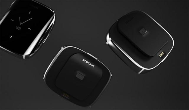 samsung un concept de montre inspir par le galaxy s6 edge. Black Bedroom Furniture Sets. Home Design Ideas