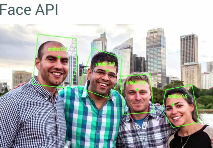 La nouvelle Face API de Google