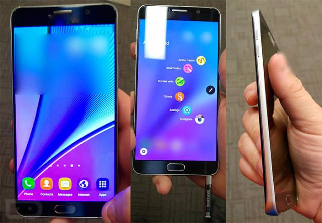 Photos Galaxy Note 5 : image 1