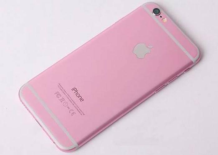 iPhone 6s rose : photo 6