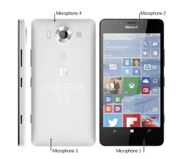 Lumia 950 : rendu 1