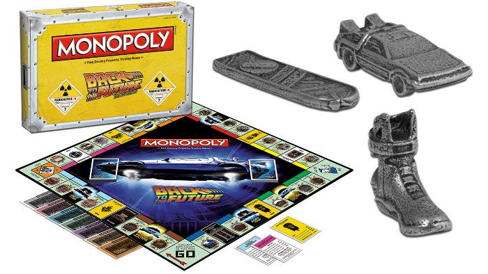 Monopoly Retour vers le Futur