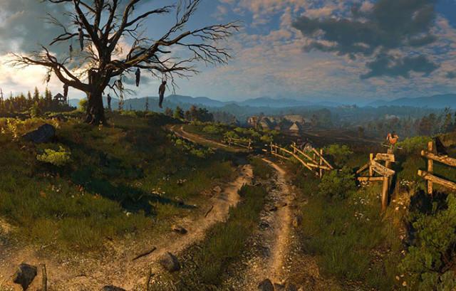 Ces panoramas ont tous été réalisés avec The Witcher 3
