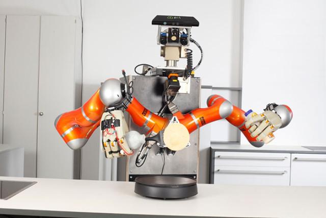 ils veulent cr er un robot capable de cuisiner tout seul. Black Bedroom Furniture Sets. Home Design Ideas