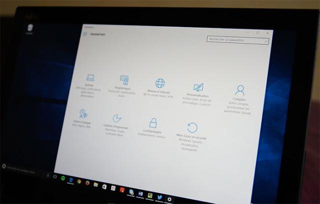 Windows 10 Paramètres : photo 17