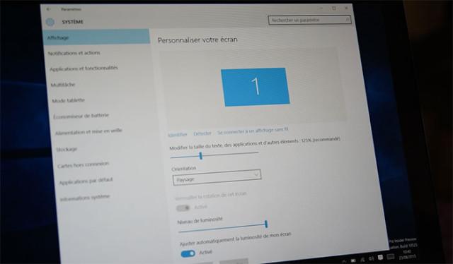 Windows 10 Paramètres : photo 5