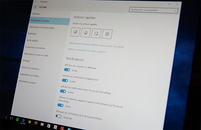 Windows 10 Paramètres : photo 6