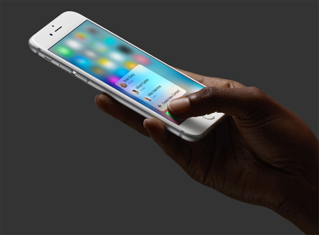 Applications 3D Touch