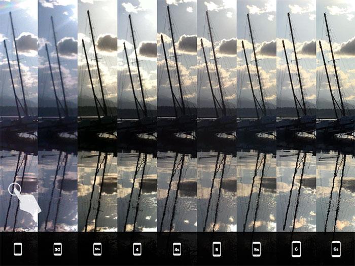 Comparo iPhone 6s : image 3