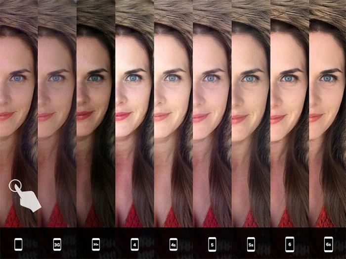 Comparo iPhone 6s : image 2