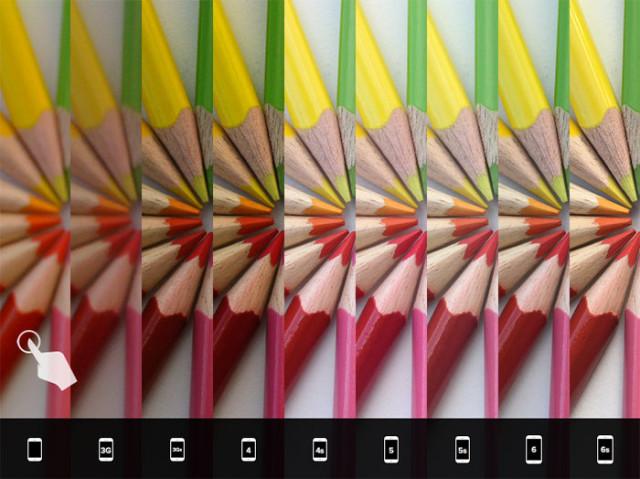 Comparo iPhone 6s : image 1