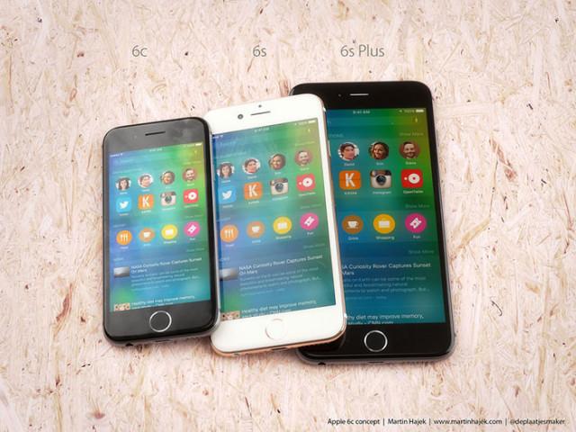 Concept iPhone 6c : image 1