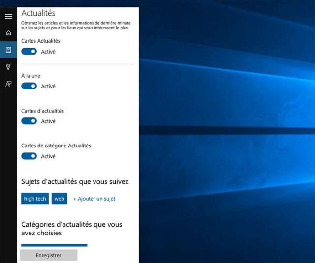 Cortana : capture 3