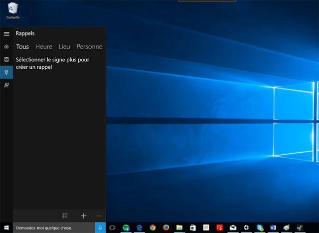 Cortana : capture 4