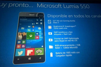 Diapo Lumia 550