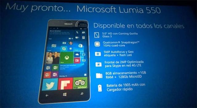 Diapo Lumia 550