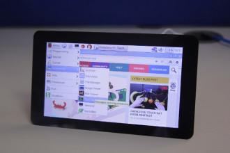 Un écran pour le Raspberry Pi