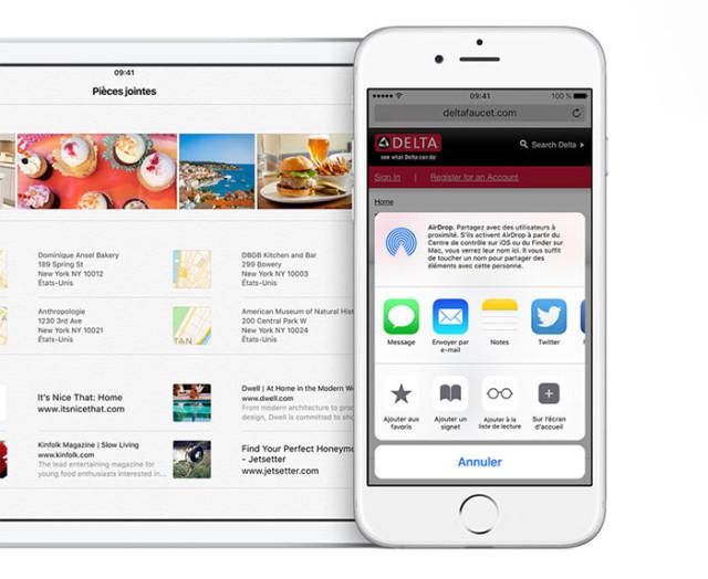 Installer iOS 9 : image 1