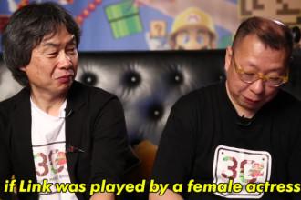 Interview pour un film Nintendo