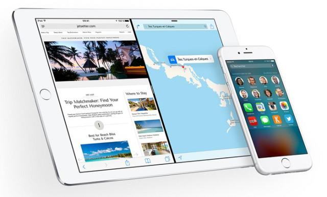 Taux de pénétration iOS 9