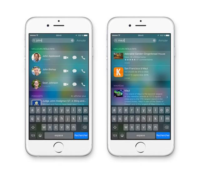 iOS 9 : Siri