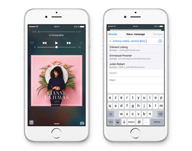 iOS 9 : Proactive
