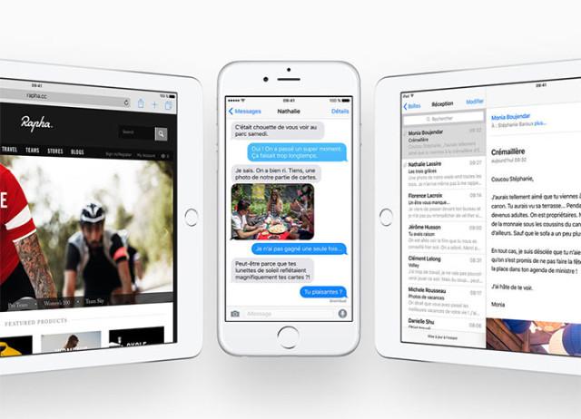 iOS 9 : sécurité