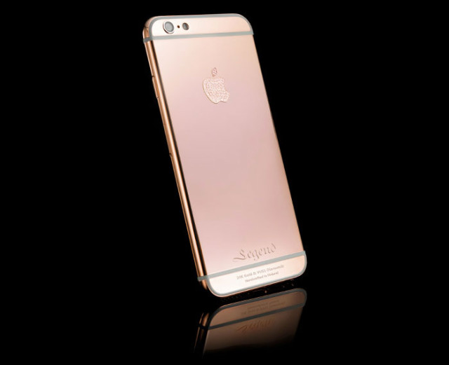 iPhone 6s or rose : image 1