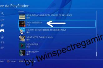 Jeux PS2 sur la PlayStation 4