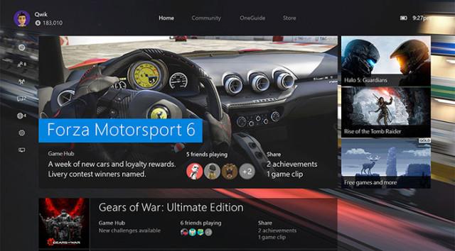 MAJ Windows 10 Xbox One