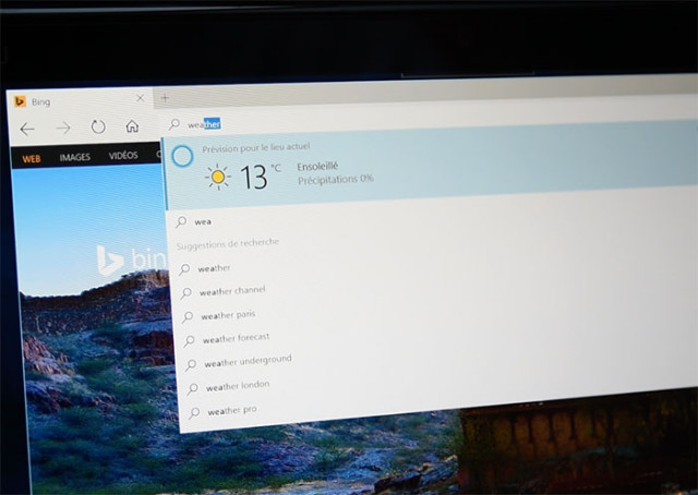 Focus Microsoft Edge