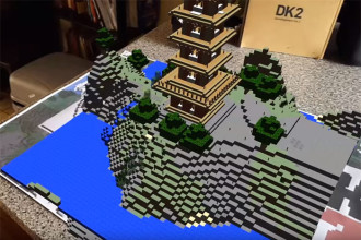 Minecraft Réalité Augmentée
