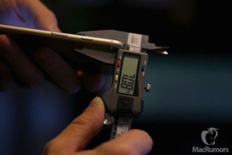 Epaisseur iPhone 6s : image 1
