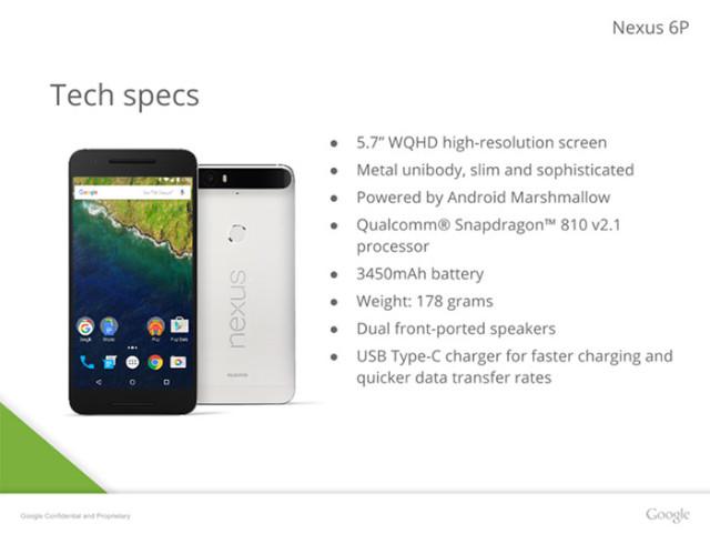 Présentation Nexus 6 : image 1