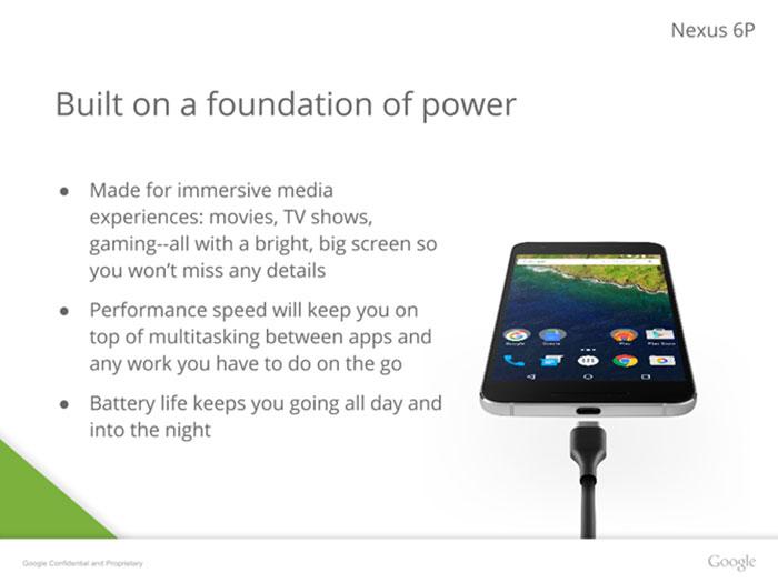 Présentation Nexus 6 : image 5
