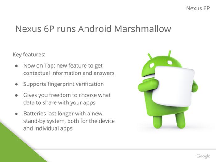 Présentation Nexus 6 : image 7