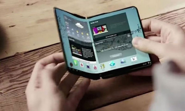 Téléphone pliable Samsung