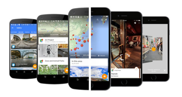 Application Google Street View