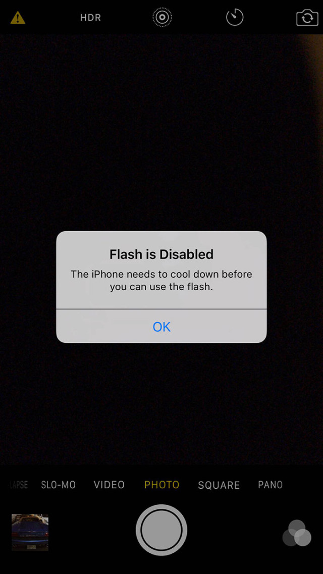 Surchauffe iPhone 6s