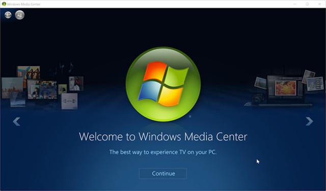 WMC Windows 10
