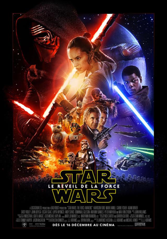Affiche Star Wars Réveil de la Force