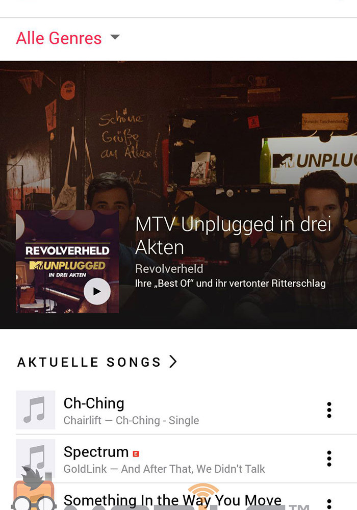 Apple Music Android : capture 2