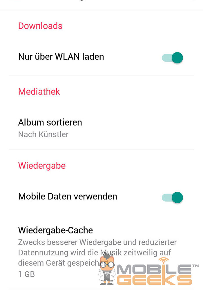 Apple Music Android : capture 4