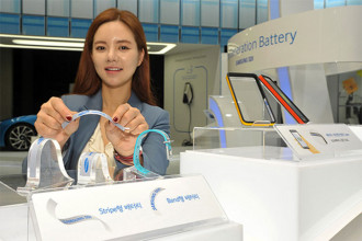Batterie flexible Samsung
