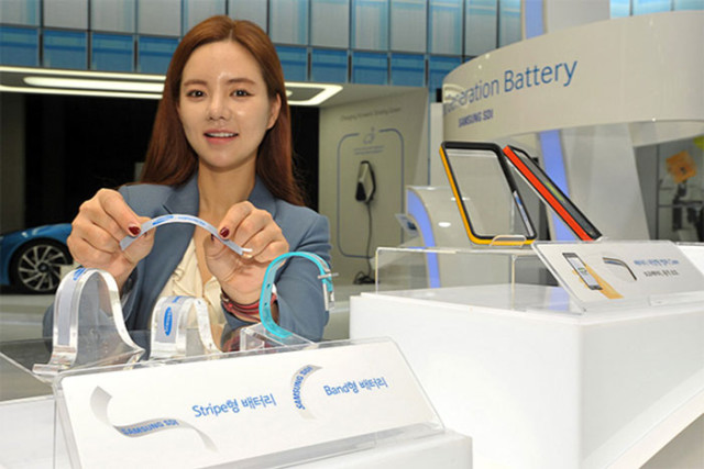 Batterie flexible Samsung