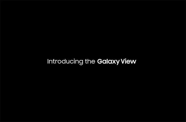 La Samsung Galaxy View aura droit à une version 4G