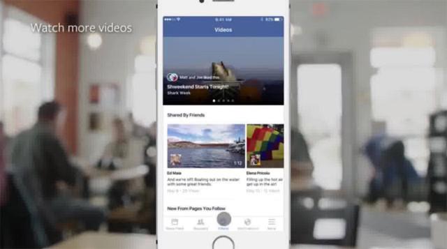 Facebook Vidéos